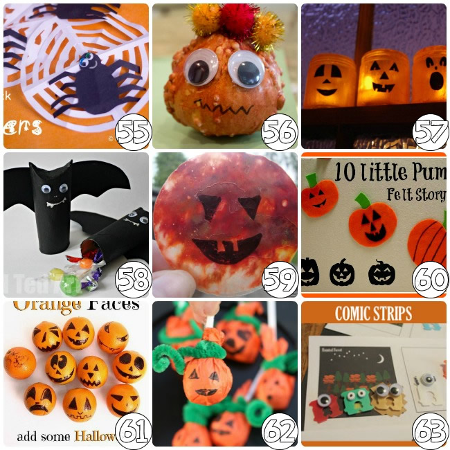 75 halloween crafts for pre k - Toddler Halloween Craft Ideas
