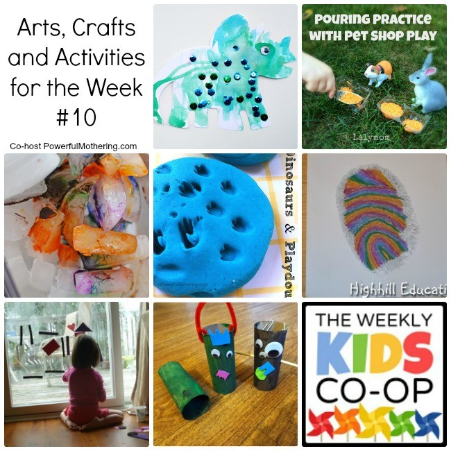 Arts, Crafts and Activities for the Week #10