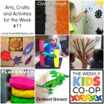Arts, Crafts and Activities for the Week with the Kids Co Op #11
