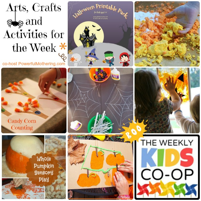 Arts, Crafts and Activities for the Week - Happy Halloween!