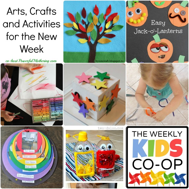 Arts Crafts And Activities For The New Week