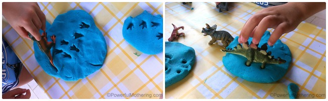 Dinosaur Weekend with Playdough and More