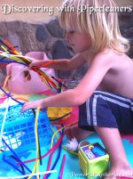 Discovering with Pipe Cleaners
