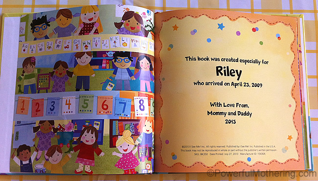 Personalized Books for Kids - I See Me Review