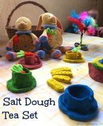 Salt Dough Tea Set