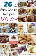 Simple Easy Cookie Recipes that your Kids will Love you for