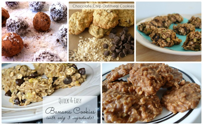 Oatmeal easy cookie recipes