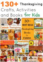 130+ Thanksgiving Crafts, Activities and Books for Kids