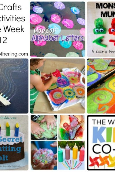 Arts, Crafts and Activities for the Week with the Kids Co Op #12