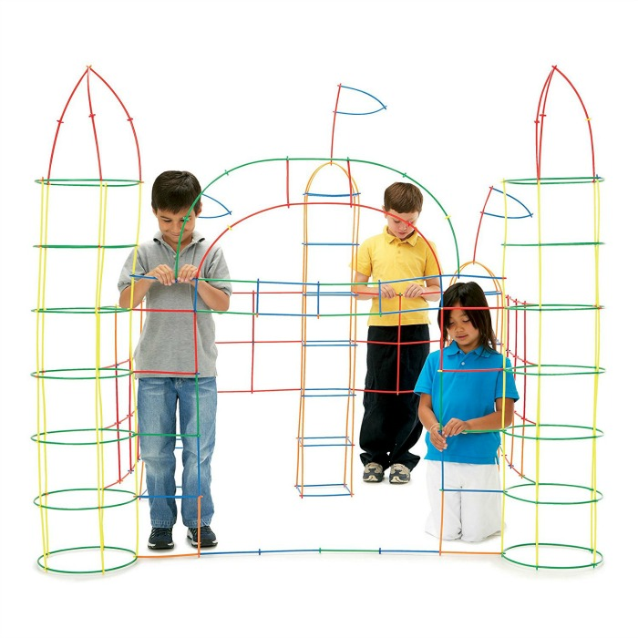 Building Toys For Toddlers And Preschoolers Straws And Connectors