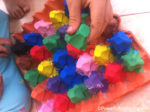 Egg Carton Crafts a Color Sort Activity