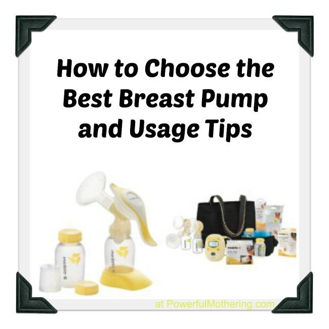 How to Choose the Best Breast Pump and Usage Tips