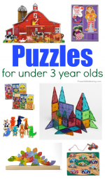Kid Approved: Puzzles for Under 3 Year Olds
