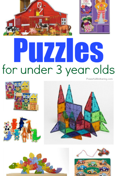 Puzzles That Are Perfect For Children Under 3 Years Old