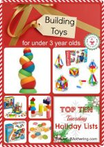 Top 10 Lists: Building Toys for under 3 year olds