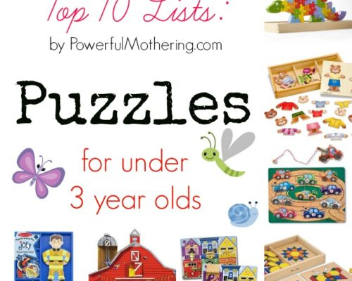 Top 10 Puzzles for Under 3 Year Olds