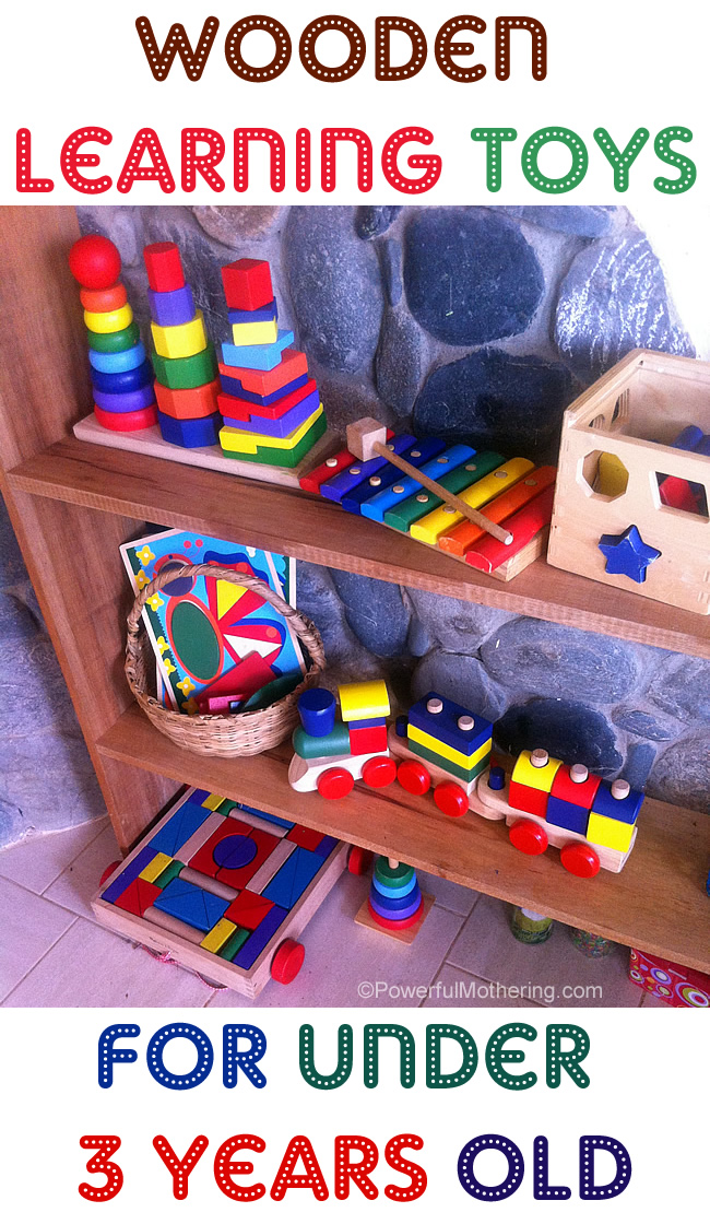 Wooden Toys For 1 Year Olds : Wooden learning toys for under year olds