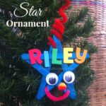 Christmas Crafts: Personalized Star Ornament for Kids