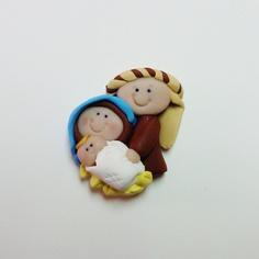 salt dough nativity