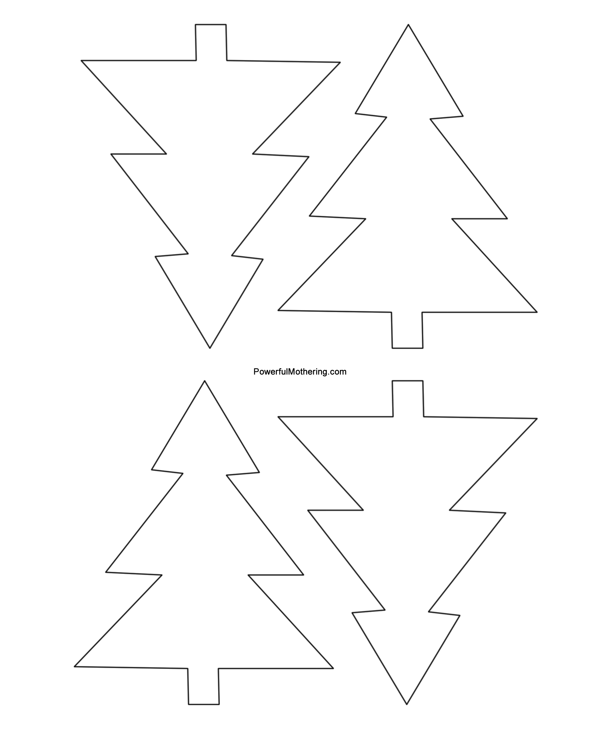 image regarding Ornament Template Printable named Gingerbread Guys, Xmas Tree and Star Printables