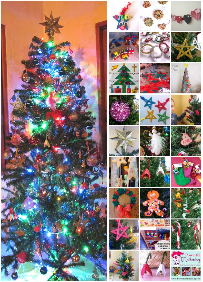 Diy Christmas Ornaments An Entire Tree Full