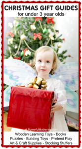 Christmas Gift Guides for under 3 years old