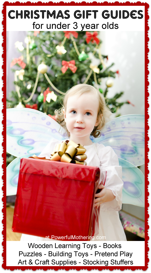 Christmas Gift Guide: Children of Three Years