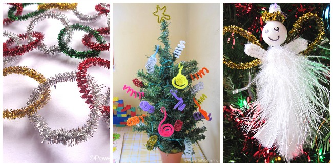 mega pipe cleaner christmas crafts
