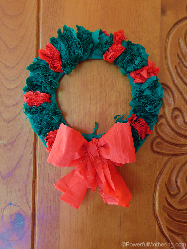 quick and easy christmas wreath
