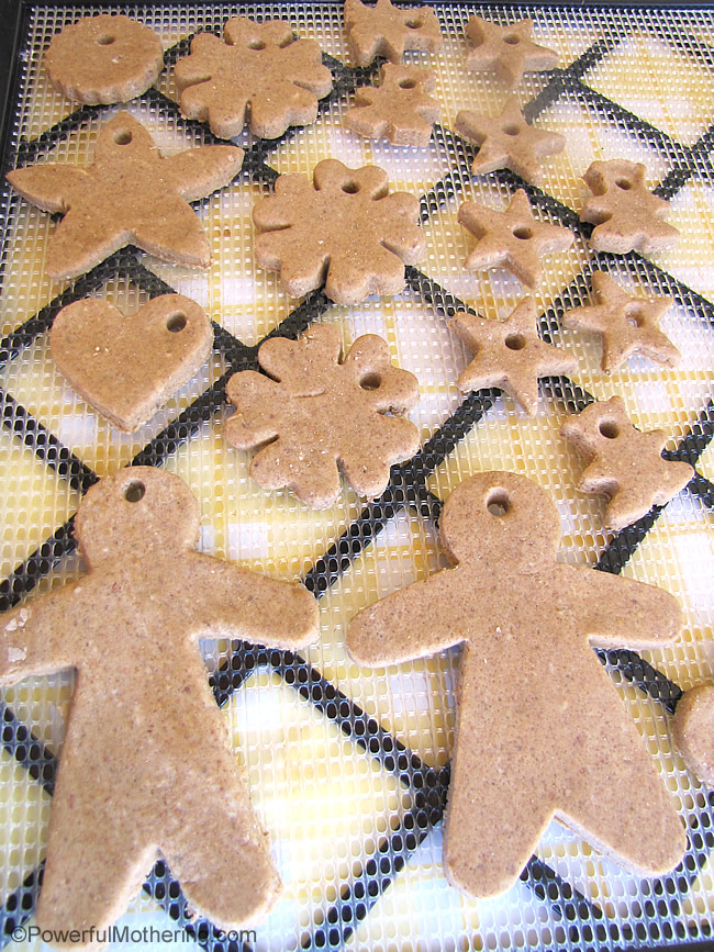 salt dough cut out shapes