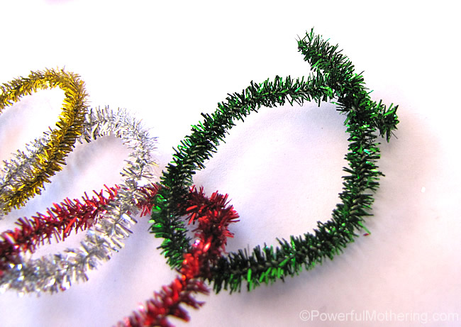 twist your pipe cleaners