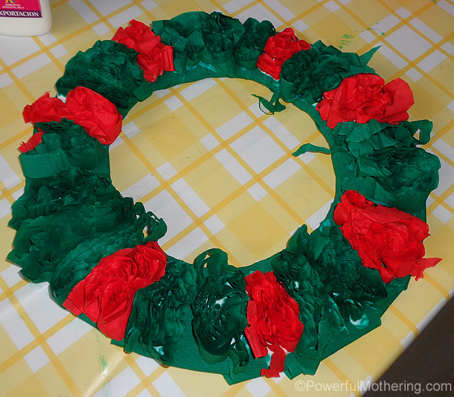 wet wreath