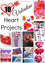 10 Valentine Heart Projects