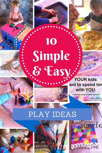 10 simple and easy play activities