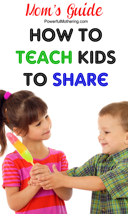 How to Teach Kids to Share plus