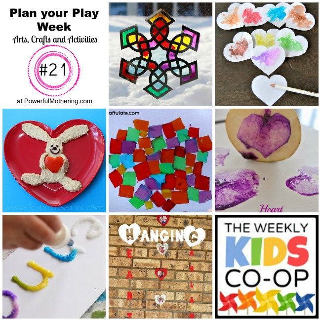Plan your Play Week with Arts, Crafts and Activities #21