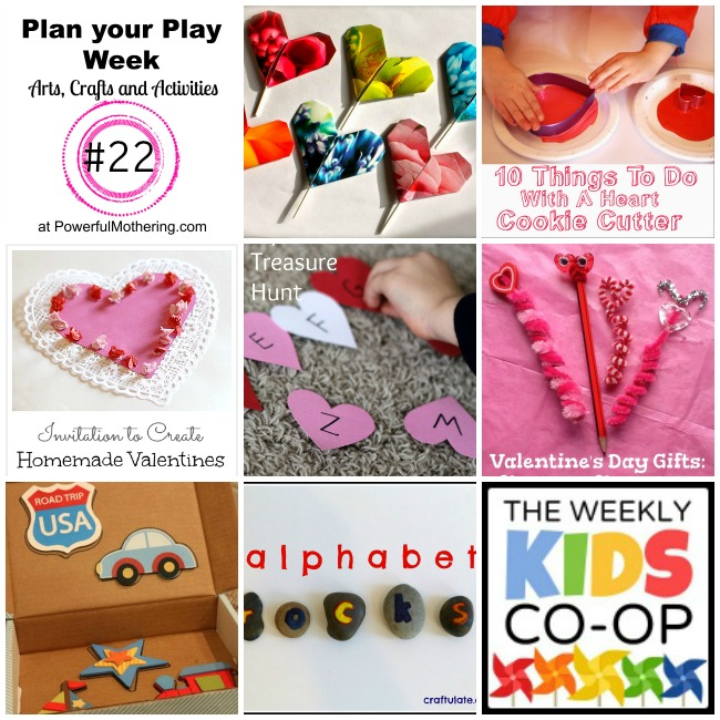 Plan your Play Week with Arts, Crafts and Activities #22