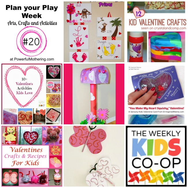 Prep for Valentines Day with Plan your Play Week 20
