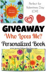 Who Loves Me? A Personalized Kids Book Giveaway!