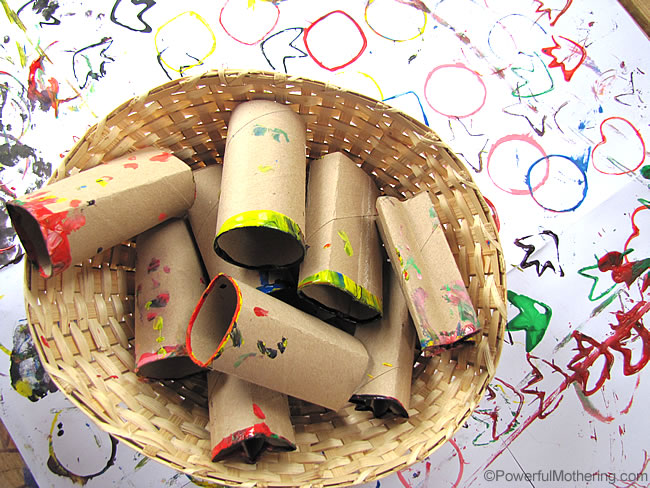 cardboard roll stamps for next time