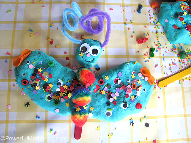 loose parts butterfly