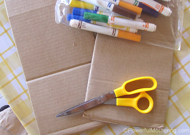 quick cardboard supplies