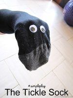 Tickle Sock Puppet