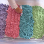 How to make Cloud Dough Recipe (Colorful & Taste Safe)