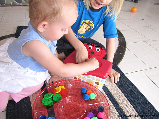 learning game for babies