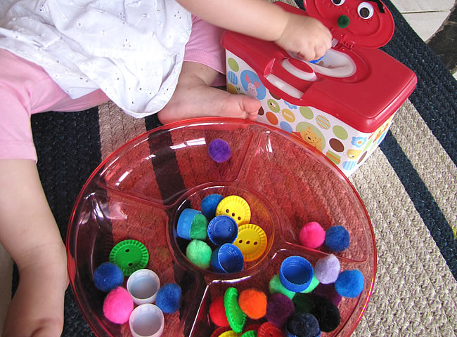 Feeding the Monster – Fine Motor Skills