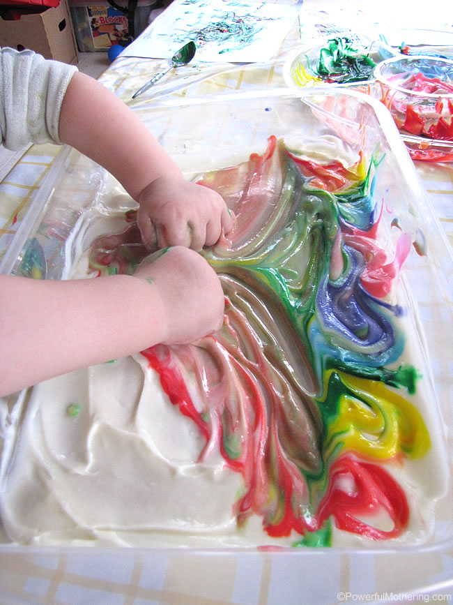 squeeshing fun rainbow