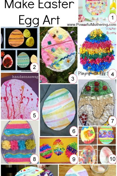12 Ways to Make Easter Egg Art