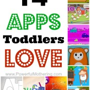 14 apps for toddlers