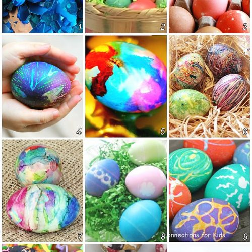 How to Dye Easter Eggs in 12 ways